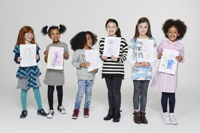 Long Tall Sally Launches World's First Fashion Campaign Styled by Children (PRNewsfoto/Long Tall Sally)