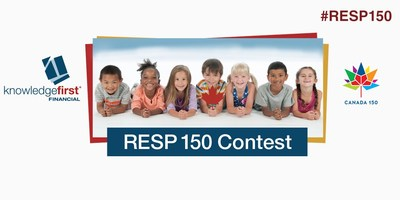 Open an RESP with Knowledge First Financial before July 31, 2017 and be automatically entered into our RESP 150 Contest. #RESP #Canada150 (CNW Group/Knowledge First Financial Inc.)