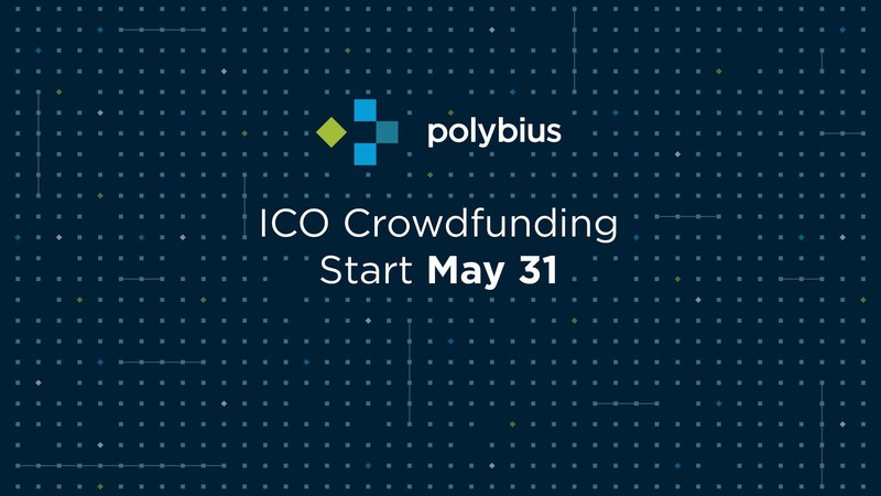 Initial Coin Offering (ICO) Crowdfunding for the Estonian-Swiss Digital Bank Project Polybius begins May 31, 2017, and will be lasting for five weeks. The Project's business model, taking into account three possible development scenarios depending on the total proceeds of the ICO, can be found on Polybius' website at www.polybius.io (PRNewsfoto/Polybius)