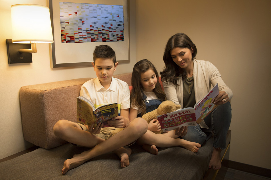 This summer, the Holiday Inn collaboration with Scholastic will include breakfast with popular book characters and a Lending Library for kids to borrow a book during their stay.