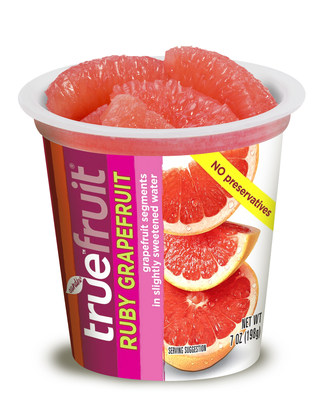 New! preservative free, clean label true fruit (r) red grapefruit