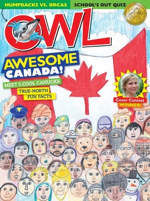 OWL Magazine June 2017 Cover (CNW Group/OWL Magazine)