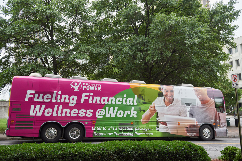 Purchasing Power's 'Fueling Financial Wellness @Work' Roadshow travels to 17 States in the Eastern U.S. during June.
