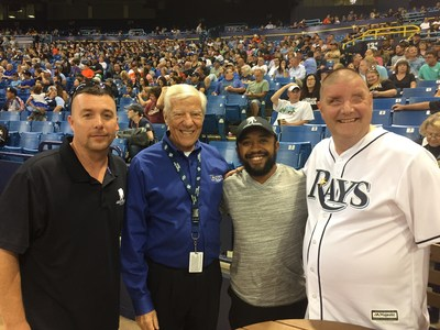The Tampa Bay Rays-Miami Marlins baseball game was a relaxed setting where Wounded Warrior Project veterans and their families shared experiences, created new memories, and learned about how WWP programs can heal their bodies and minds.