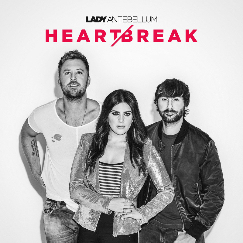 """Cracker Barrel Old Country Store will offer seven-time Grammy Award-winning trio Lady Antebellum's sixth studio album """"HEART BREAK"""" in stores and online at crackerbarrel.com as part of its latest Spotlight Music partnership."""
