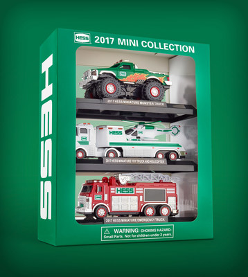 The 2017 Hess Toy Truck Mini Collection