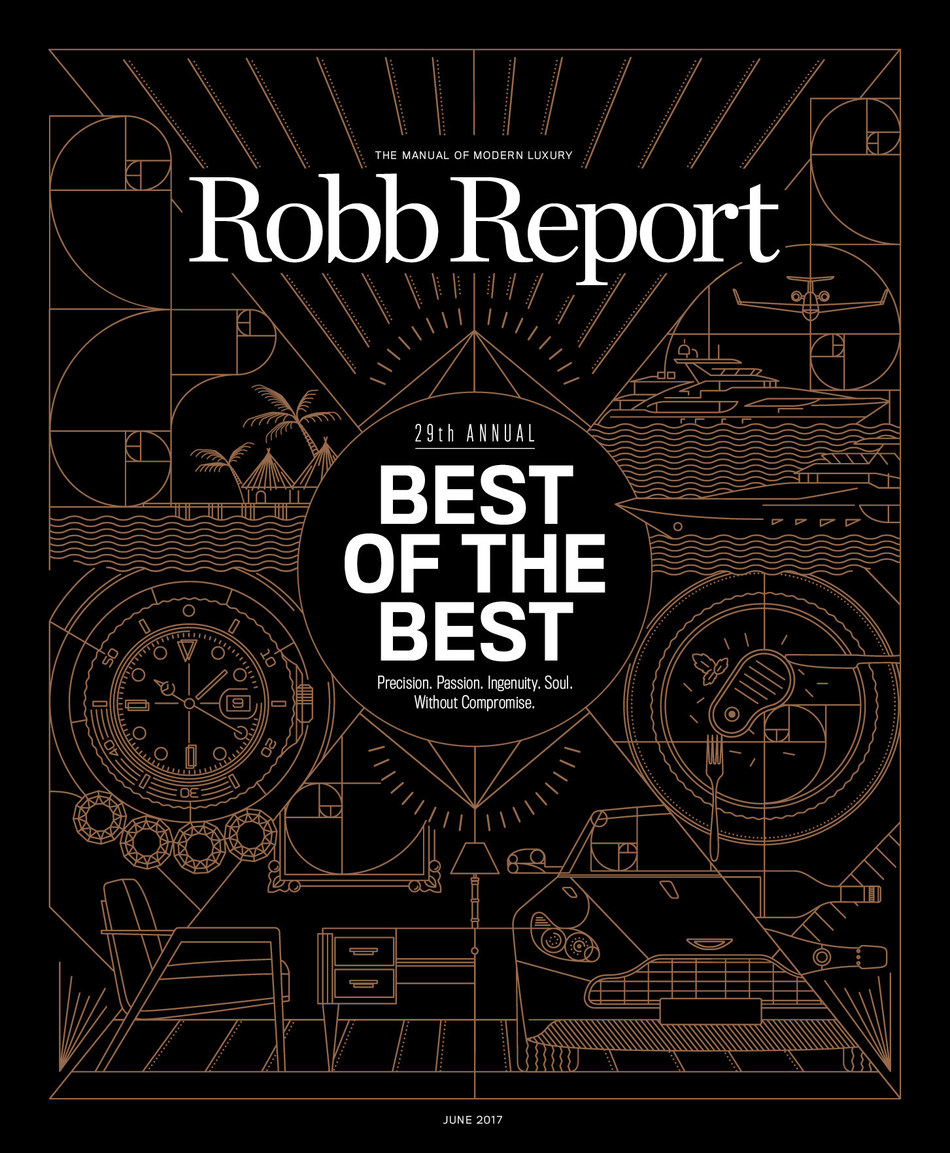 Robb Report Announces Brand Refresh; June 'Best of the Best' Issue Hits Newsstands June 6
