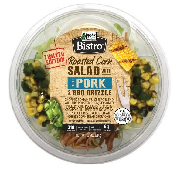 Just in time for summer, Ready Pac Foods is turning up the heat with the launch of its Limited Edition Roasted Corn and Pulled Pork Bistro Bowl®.