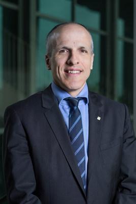 Le professeur Pierre Cossette devient la 10e personne à occuper le poste de recteur dans l'histoire de l'UdeS. (Groupe CNW/Université de Sherbrooke)