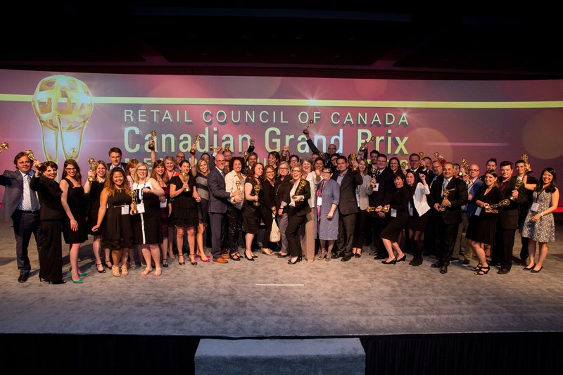 Canadian Grand Prix Award Winners (CNW Group/Retail Council of Canada)