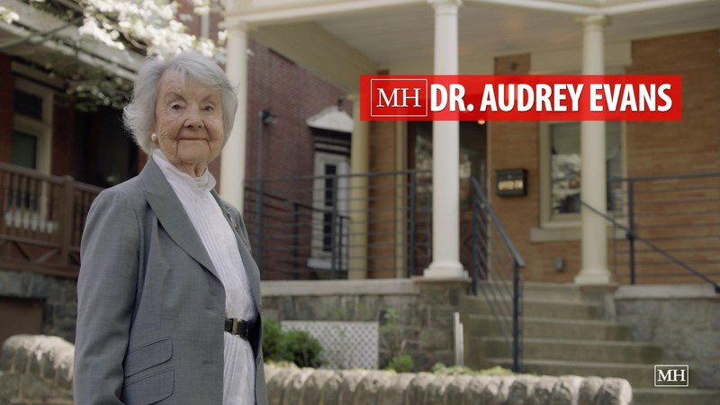 Dr. Audrey Evans, 92, named MODERN  HERO