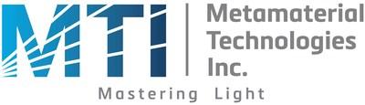 Logo: Metamaterial Technologies Inc. (CNW Group/Metamaterial Technologies Inc.)