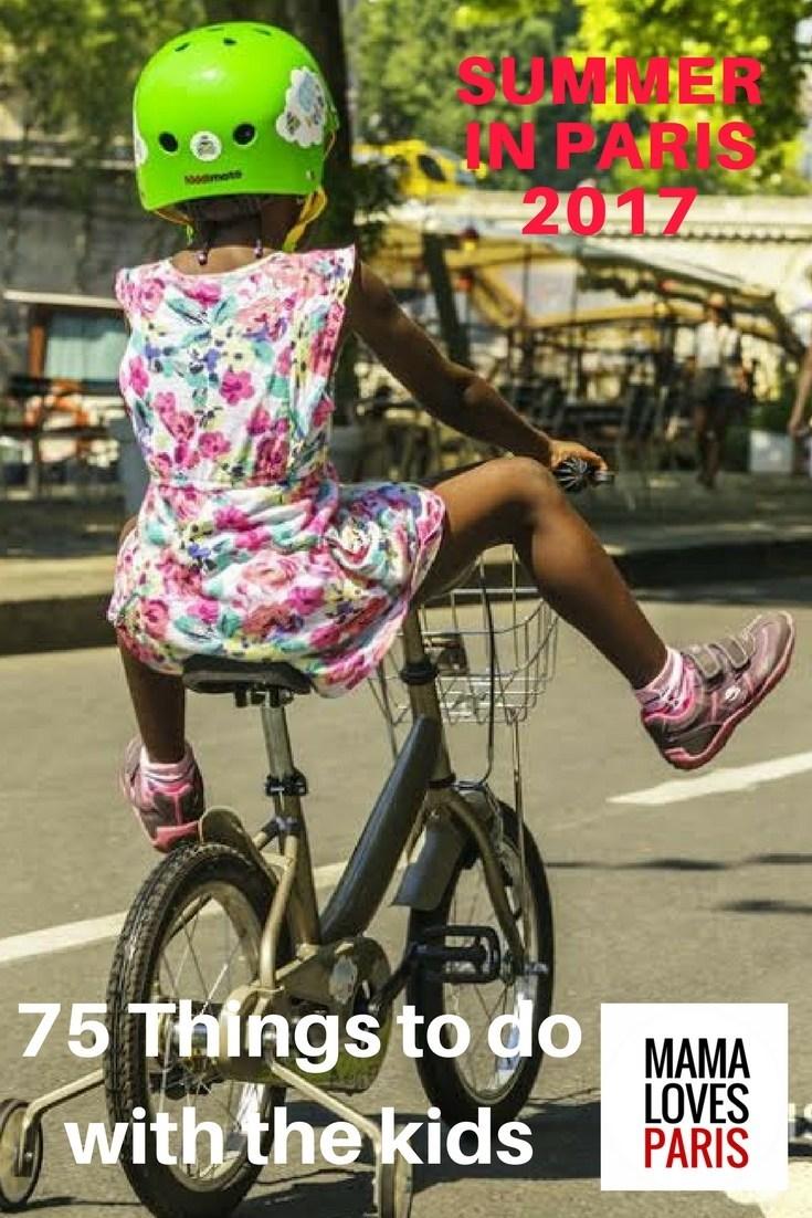 Mama Loves Paris Launches the Summer in Paris Guide for Families (PRNewsfoto/Mama Loves Paris)