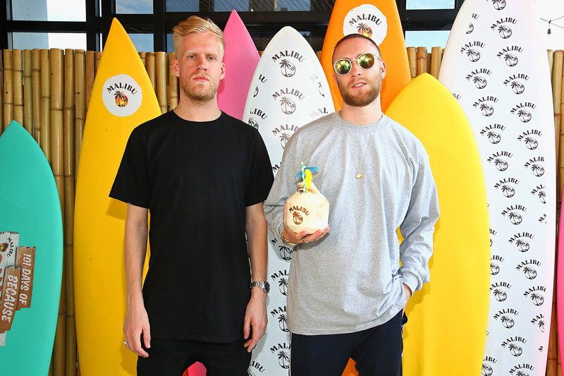 NEW YORK, NY - MAY 31: Snakehips kicked-off Malibu Rum's 101 Days of #BecauseSummer at New York City hot-spot, Tiki Tabu, with a surprise performance. (Photo by Paul Zimmerman/Getty Images for Malibu Rum)