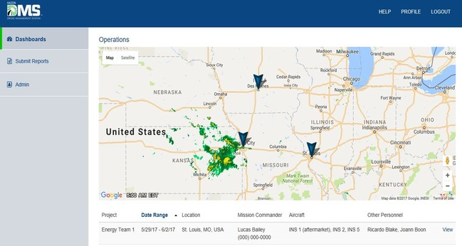 A complete drone fleet management tool