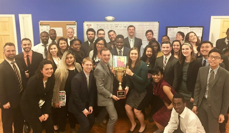 Award winning marketing firm SES earned a national sales trophy for its first quarter excellence.