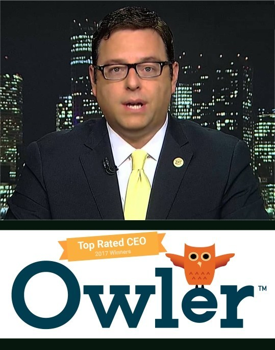 Owler Names SnoopWall CEO to Top 100 High Tech CEOs for 2017
