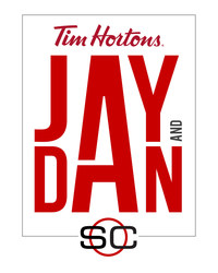 SC WITH JAY AND DAN PRESENTED BY TIM HORTONS logo, which was revealed today (CNW Group/TSN)