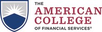 The American College of Financial Services logo (PRNewsfoto/The American College)