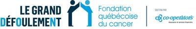 Logo : Le Grand défoulement de la Fondation québécoise du cancer (Groupe CNW/Fondation québécoise du cancer)