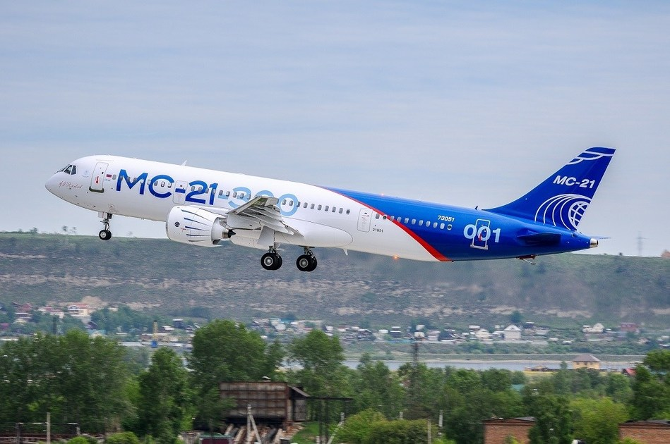 Audio Management System aboard the MC-21's May 28th maiden flight by Orbit Communications Systems (PRNewsfoto/Orbit Communications Systems Ltd)