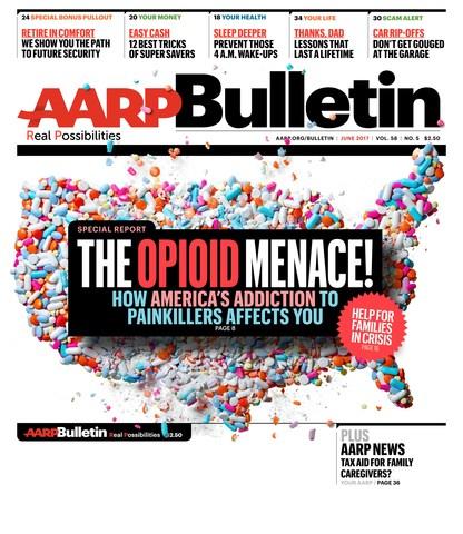 AARP Bulletin June 2017 Cover