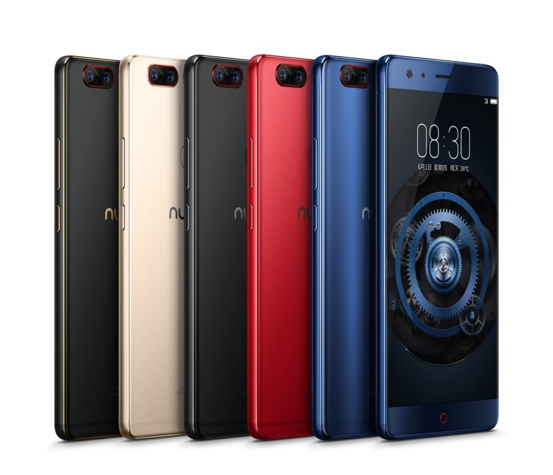 Z17, o novo smartphone principal da nubia (PRNewsfoto/nubia)