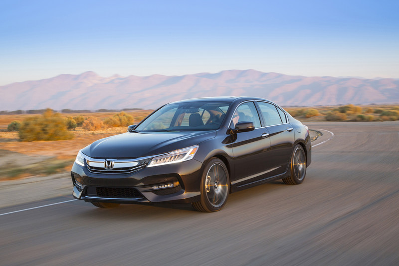 More than 33,000 2017 Honda Accords were sold in May for a gain of 5 percent over the same period last year, helping Honda to new sales gains for the month.