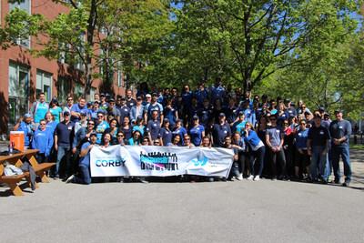Corby célèbre sa 7ème année de Responsib'All Day en aidant 11 communautés à travers le Canada. (Groupe CNW/Corby Spiritueux et vins Communications)