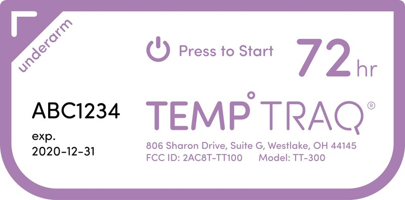 Blue Spark Technologies, Inventor of the TempTraq® Wearable, Bluetooth® Temperature Monitor, Awarded Patent