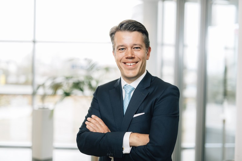 """Michael Dorin, CFO at itelligence AG: """"With the acquisition of Goldfish ICT, we are pursuing our strategic goal of being among the leading SAP partners in each of our most important markets. We can now expect to see significant increases in sales in attractive growth sectors in the Benelux."""" (PRNewsfoto/itelligence AG)"""