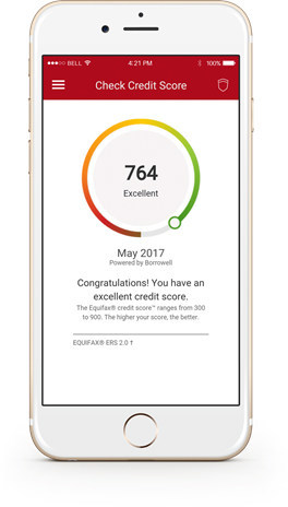 CIBC introduces Free Credit Score for mobile banking (CNW Group/CIBC)