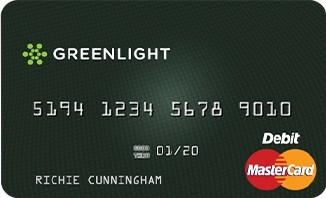 Greenlight Card (PRNewsfoto/Greenlight Financial Technology)