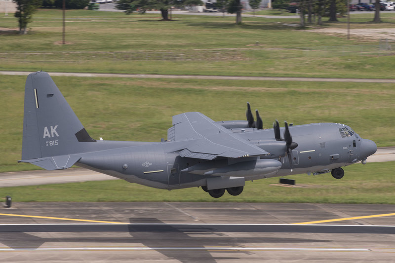 The U.S. Air National Guard  received its first HC-130J Combat King II today.  Photographer Amanda Mills, Lockheed Martin.