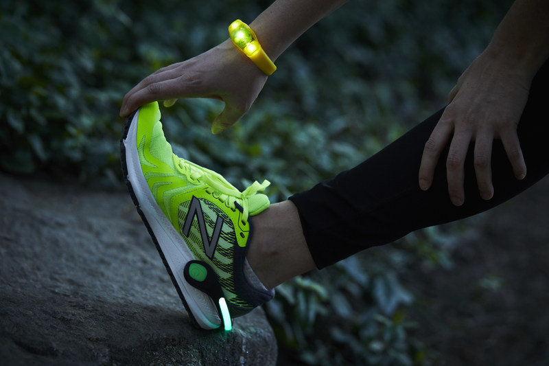 Beginning on Global Running Day through the month of June, Westin will add reflective accessories to the brand's Gear Lending program in response to a growing global demand among travelers, who are sweating before sunrise. (PRNewsfoto/Marriott International, Inc.)
