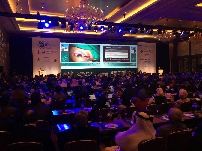 Mundipharma at the Evolving Practice of Ophthalmology Middle East Confererence (PRNewsfoto/Mundipharma)