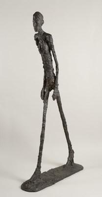 Alberto Giacometti, Homme qui marche, 1960. Bronze, 180,5 x 27 x 97 cm. Fondation Alberto et Annette Giacometti (Groupe CNW/Musée national des beaux-arts du Québec)