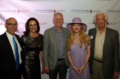 Pictured Left to Right: Dr. Alan Wayne, Helen Wayne, Ken Bunt, Rebecca Diamond and Joel Diamond