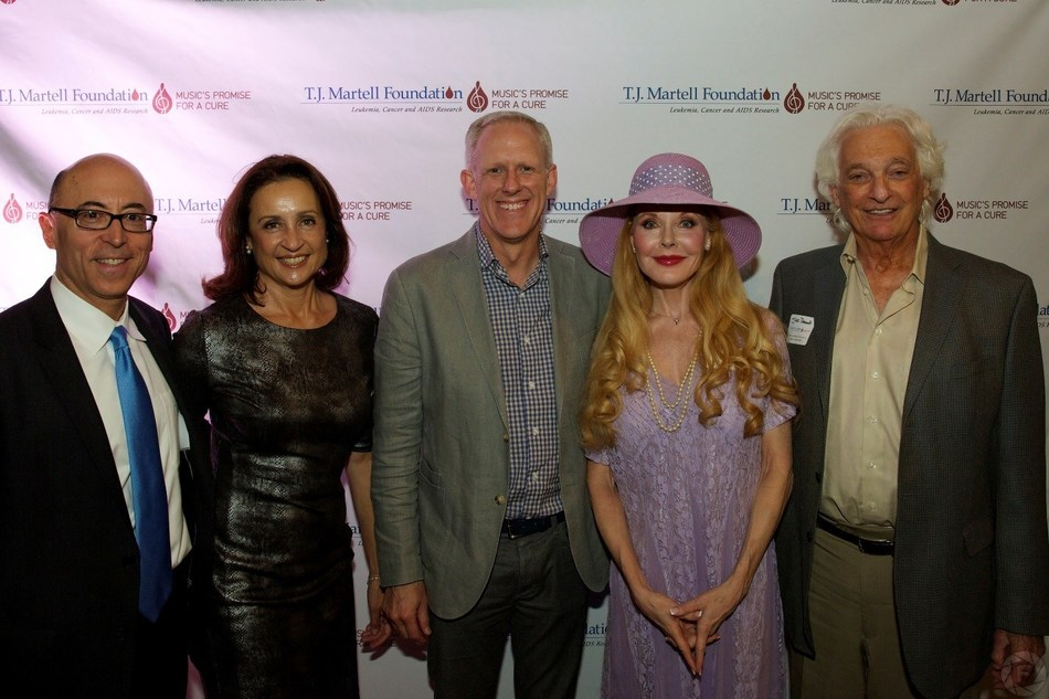 Pictured Left to Right: Dr. Alan Wayne, Helen Wayne, Ken Bunt, Rebecca Diamond and Joel Diamond