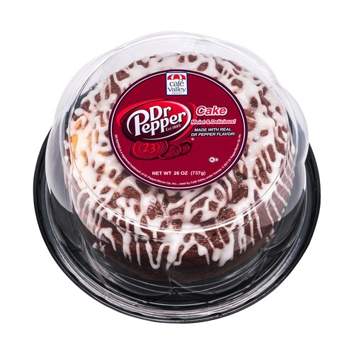 Café Valley® Introduces New Dr Pepper™ Cake at International Dairy Deli Bakery Association Show