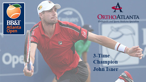 OrthoAtlanta proudly serves as the official orthopedic and sports medicine provider of the 2017 BB&T Atlanta Open, an ATP World Tour 250 event that runs July 22 - 30, 2017, at Atlantic Station, in Midtown Atlanta, Georgia.
