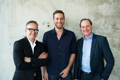 Rob Feenie, Cory Vitiello and Richard Jaffray (CNW Group/Cactus Club Cafe)