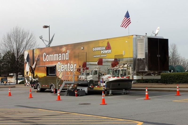 The Georgia Power Mobile Command Center.