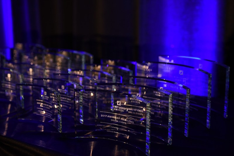 IABC London's 2017 Virtuoso Awards Celebration was held on Thursday, June 1. Over 25 awards were presented to celebrate excellence in strategic business communications. (CNW Group/International Association of Business Communicators)