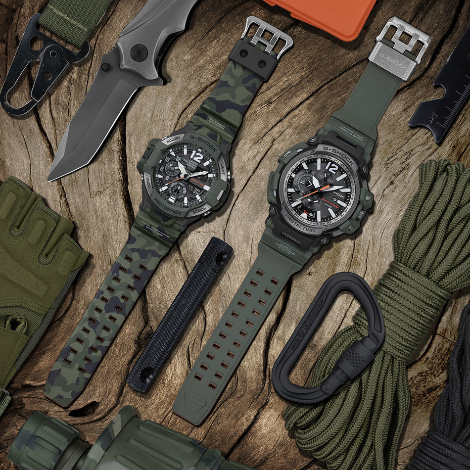 New GRAVITYMASTER Color Additions: GA1100SC-3A and GPW2000-3A