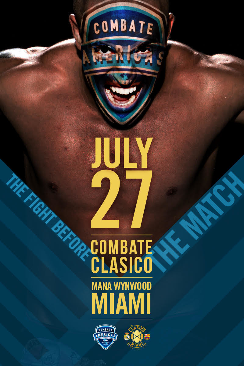 """Relevent Sports, a division of RSE Ventures, has partnered with Combate Americas to produce """"Combate Clasico,"""" a live, world-class MMA television event in Miami, Fla. on Thursday, July 27."""