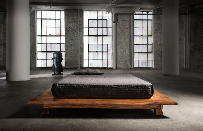 Timeless treasures for the ultimate bedroom.  artemano zen bed in natural. (CNW Group/Artemano)