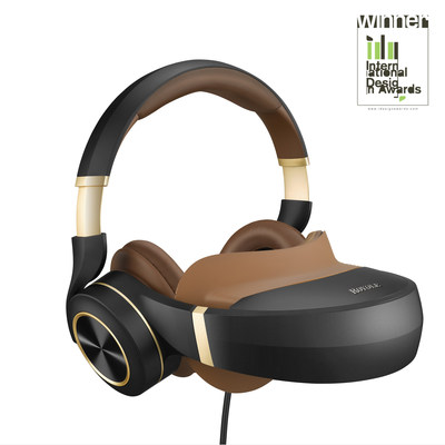 Royole Moon, designed and engineered for movies, gaming, and more, combines two Full HD 1080p AMOLED displays at over 3000 ppi resolution that simulate a giant curved screen with stereoscopic 3D, and active noise-cancelling headphones. The combination delivers cinematic movie-watching and immersive gaming experiences anywhere the wearer desires.