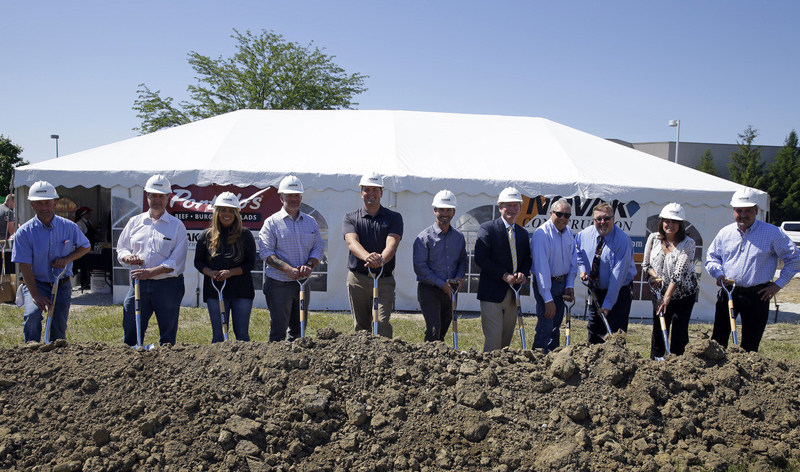 Novak Construction Breaks Ground in Central Indiana - New Portillo's in Fishers