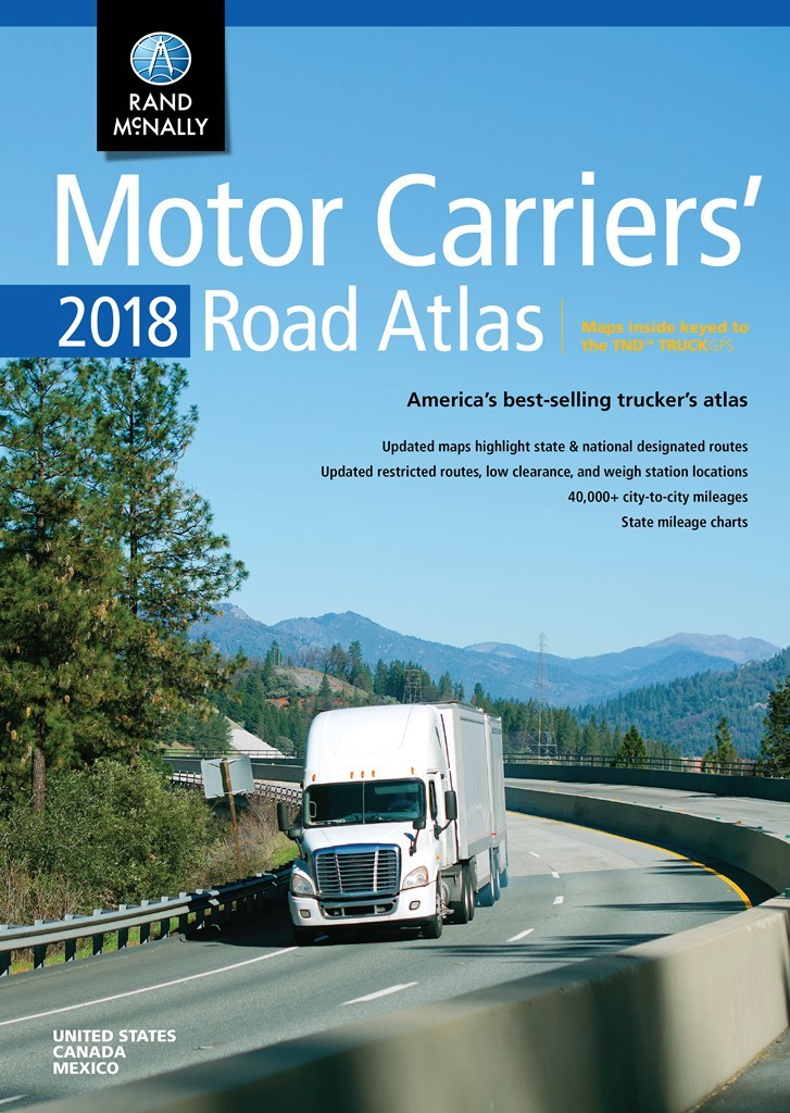 Motor Carriers' Road Atlas 2018